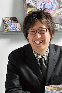 <strong>タカラトミー ボーイズホビー主任●高岡悠人</strong><br>1981年、大阪府生まれ。2004年タカラ入社。06年タカラトミーに。現在、グローバルボーイズホビー事業本部ボーイズ事業部ボーイズホビーチーム主任。