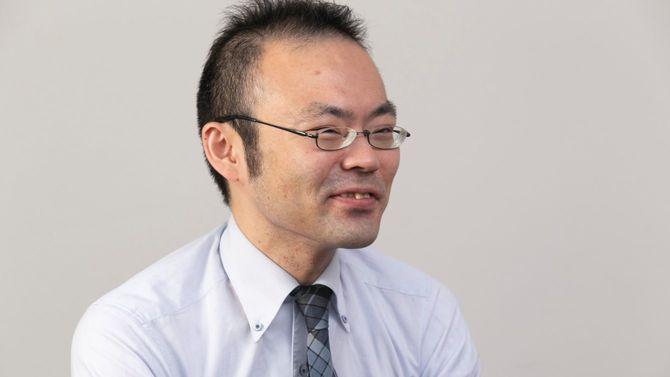 塾講師の馬屋原吉博さん