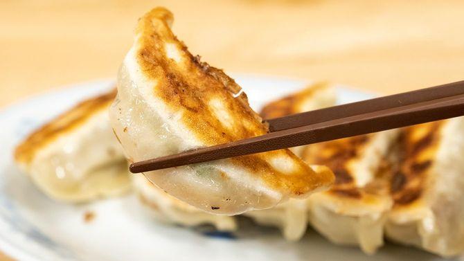 ぎょうざの満洲の焼餃子