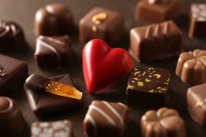 ハート型チョコレート