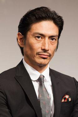 俳優・伊勢谷友介が2016年7月27日、東京・銀座の歌舞伎座で行われた映画『ジャングル・ブック』のジャパンプレミアに出席。