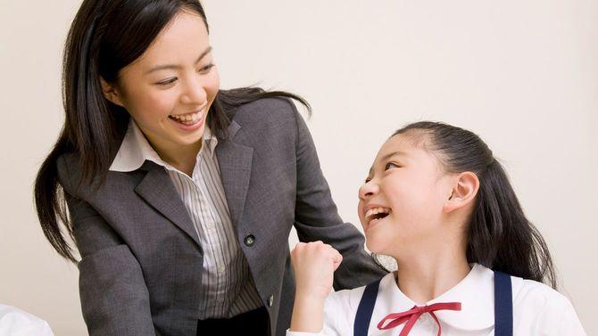 女教師と小学生