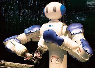 まだまだ登場 ロボットたち
