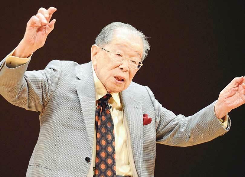 """日野原先生が""""100歳現役""""を体現した秘訣 会社から社会に置き換えて考える"""