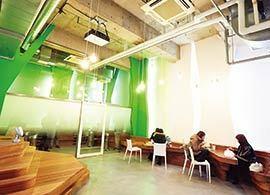 エイベックス・グループ・ホールディングス -職場空間革命2014【3】