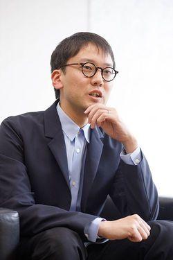 斎藤幸平氏(撮影=五十嵐和博)