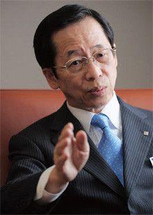 <strong>東京ガス社長 岡本毅</strong>●1947年9月23日、京都府生まれ。70年、一橋大経済学部卒、東京ガス入社。2004年、企画本部長。07年、副社長、10年4月、現職。
