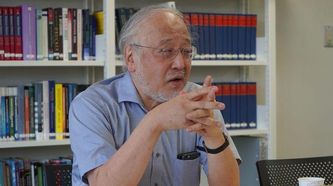 東京大学大学院の藤本隆宏教授。