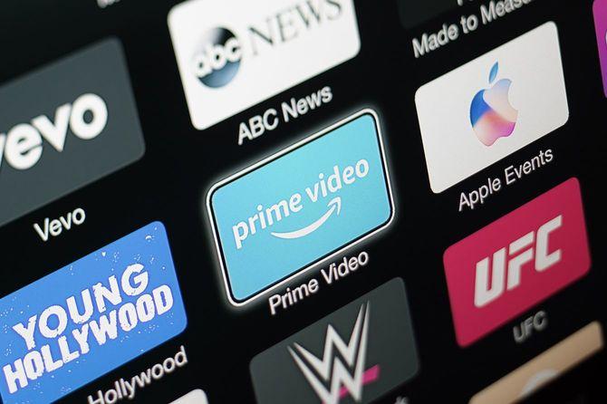 Amazonプライムビデオアプリ