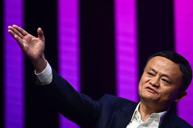 中国電子商取引最大手・阿里巴巴(アリババ)集団の創業者、馬雲(ジャック・マー)氏