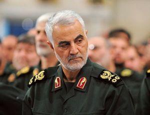2020年1月3日に米軍の攻撃によって殺害された、イラン革命防衛隊のソレイマニ司令官。
