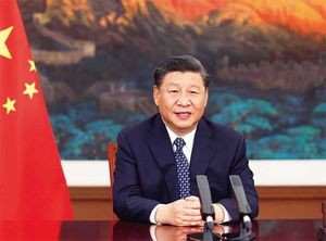中国の習近平国家主席。