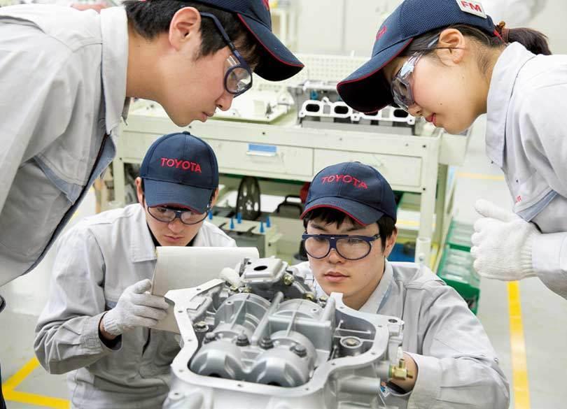 トヨタの未来を担う新入社員教育「モノづくり研修」に潜入!