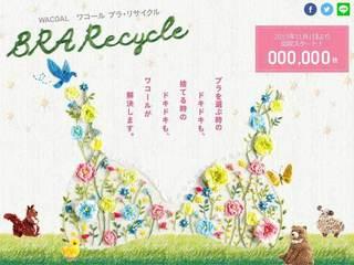 地球・女性に優しい「ブラ・リサイクル」