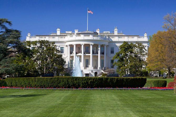 South ポルティコ」を、White House,Washington DC,USA.