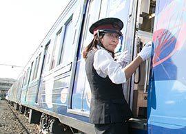 秩父鉄道初の女性運転士