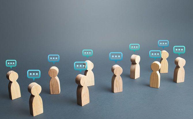 人のコミュニケーションのイメージ