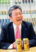 <strong>サントリー酒類常務取締役ビール事業部長 寺永好孝氏</strong>。ハイボール、ほろよいなど、酒類全般でのサントリーの躍進が目立った。2011年、さらなる飛躍を画策する。