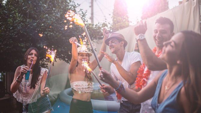 夏の日のパーティー