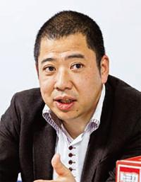 マーケティング本部リーダーの本多秀光氏はトミー出身。トミカのライセンスビジネスを手がける。