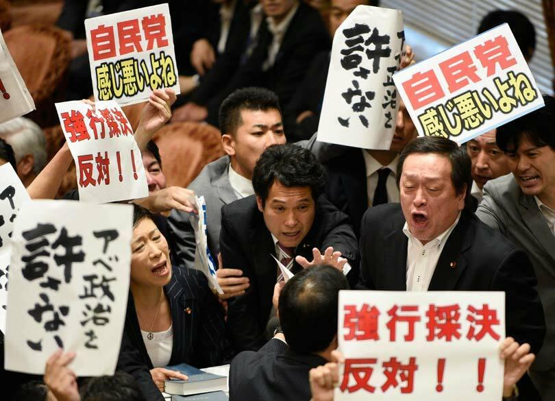 """民進党は""""9条""""で分裂する必要はなかった 集団的自衛権は「違憲」ではない"""