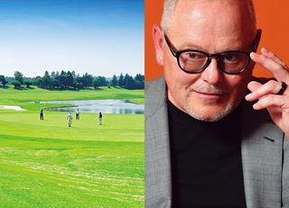 ゴルフクラブで成功、米富豪インタビュー