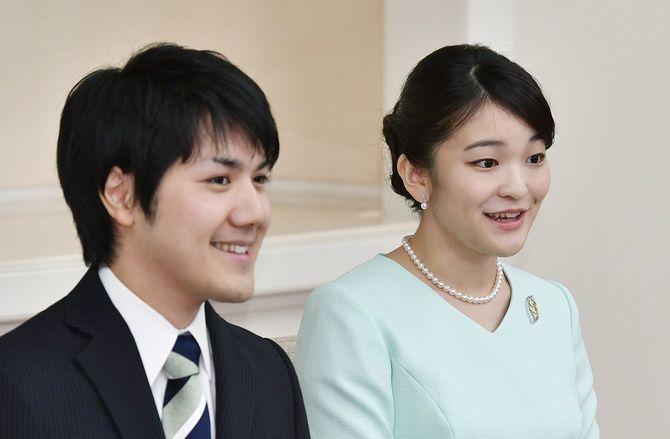 婚約が内定し、記者会見される秋篠宮家の長女眞子さまと小室圭さん