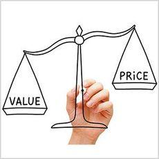 """資産の価格ではなく""""価値""""に目を向け…"""