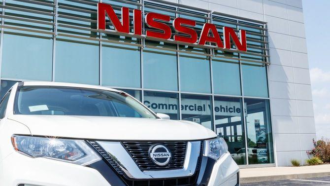 2018年、日産自動車・SUVディーラーの新車。日産はルノー日産三菱アライアンスに加盟している