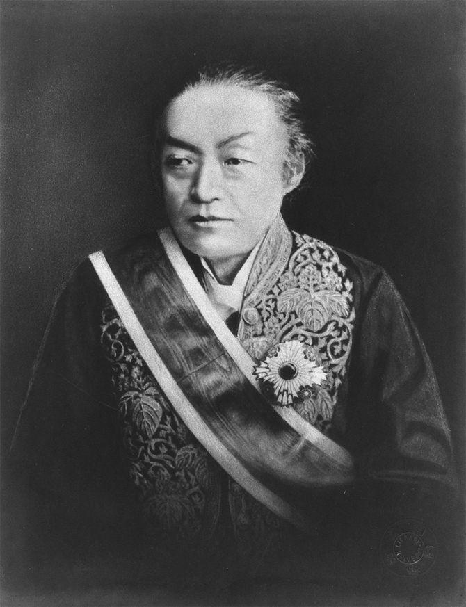 維新十傑の一人、岩倉具視。位の低い公家だったが維新後、太政大臣にまで上り詰める。