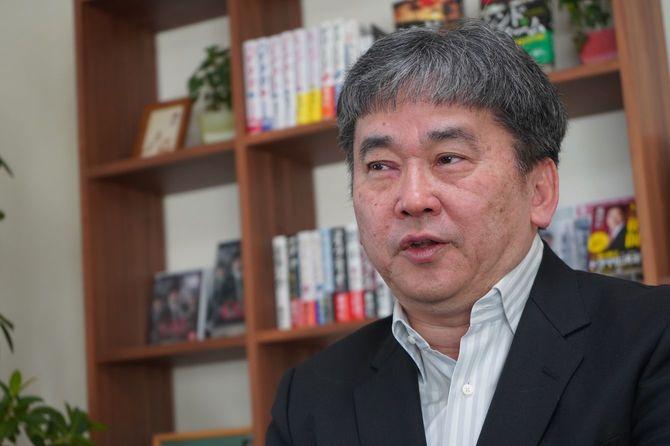 『ロッキード』を出した小説家の真山仁さん