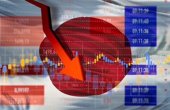 日本経済の暴落