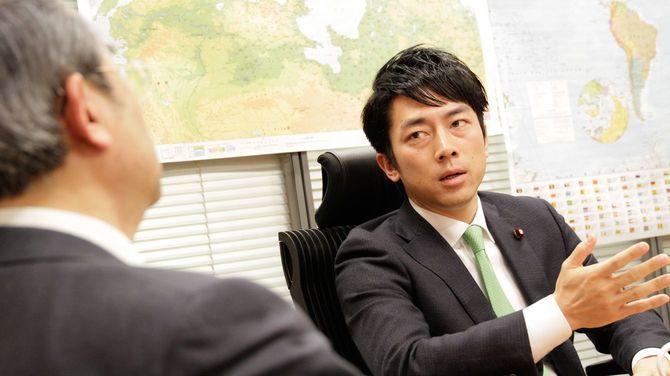 田村重信氏と小泉環境相