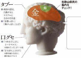 和歌山県民―― 一見おおらか、お人好しだが、利にさとい一面もあり