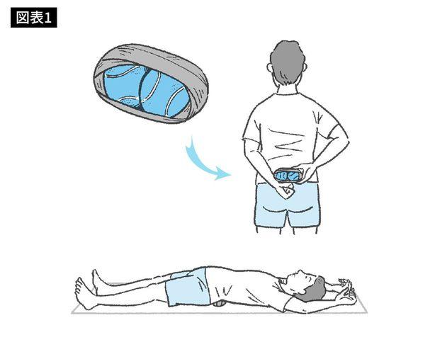 テニス ボール 仙 腸 関節 2個のテニスボールだけで頑固な腰痛を治す方法 その原因は「座りすぎ」にある