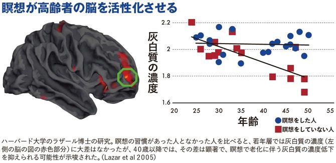瞑想が高齢者の脳を活性化させる