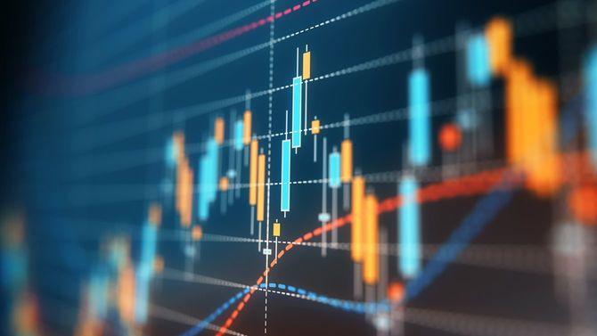 財務・技術データ分析グラフ