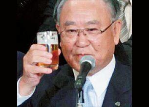 キヤノン会長 御手洗冨士夫 -「私が社長」と「ツルの一声」