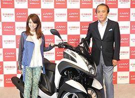 大島優子も絶賛!「3輪バイク」の可能性