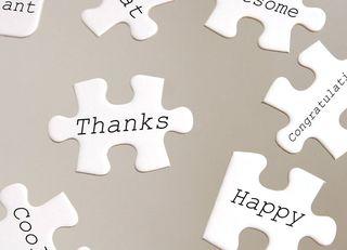 感謝の言葉を毎日書けば、幸せが続く