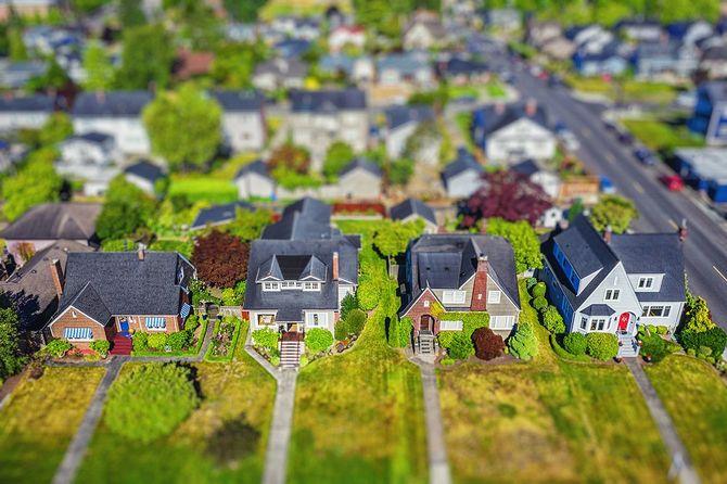 小さな郊外