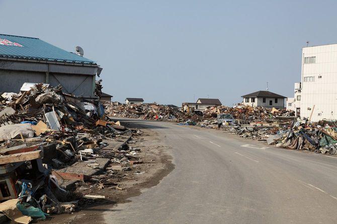 東日本大震災の津波被害