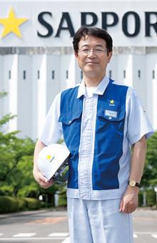 サッポロビール 仙台工場長<strong> 仲本滋哉</strong>●1961年、静岡県生まれ。大阪大学工学部卒業後、同社入社。大阪から北海道まで、全国の工場や研究所にて醸造畑を歩む。2009年より現職。