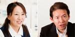(左)小林千寿子さん。96年から「ダイエー好きが高じて」パートタイマーで働く。(右)野口敏光総務人事本部副本部長。東京本社の対策本部から仙台店を支えた。