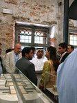 初参加のアラブ首長国連邦は、オープニングに王族も出席した。