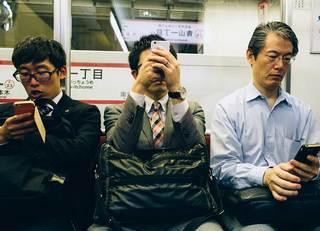 通勤電車でバレる「幸福な人、不幸な人」