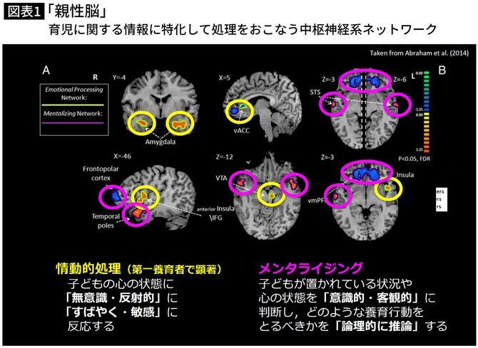 「親性脳」