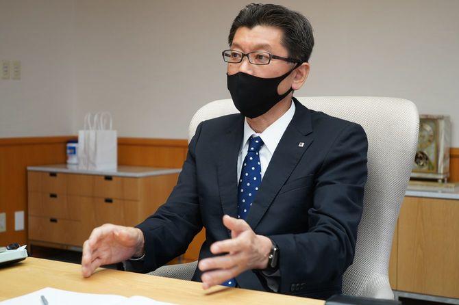 サッポロビールマーケティング本部長の野瀬裕之氏