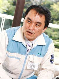 初めのうちはなぜ座禅をするかわからなかった<br><strong>和歌山工場化学品PRD油脂●栗垣 勇さん</strong><br>1967年生まれ。今期テクノ生を代表して寮長を務める。そこでできたネットワークを大事にしたいと語る。