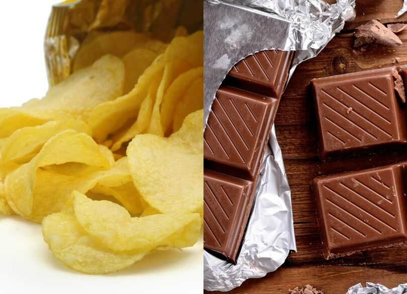 「ポテチ対チョコ」より健康に悪いのは? おすすめはダークチョコレート